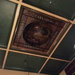 Ceiling View at the Munster Bar