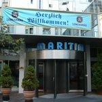 マリティムホテル玄関