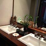 Two washing basins