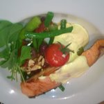 My salmon dish - delicious!