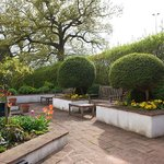 Italian garden - the perfect place to enjoy a drink from the bar in the Summer