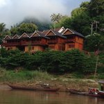 Mekong Riverside Lodge from the water