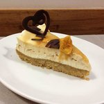 Whisky butterscotch cheesecake