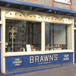 Brawns, Cowes, Extremely good food, well presented and very friendly service.