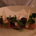 Beetroot tart (starter)
