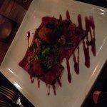 Carpaccio of beef.