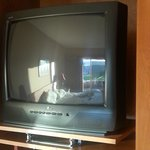 Old tube televisions