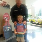 Joe Gibbs and Riley