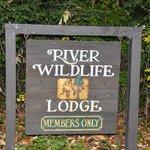River Wildlife sign