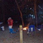 Our wonderful campsite