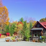 Fall Colors at the Fairview Lake Cafe