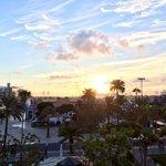 Las vistas desde la terraza del hotel son espectaculares