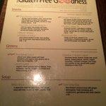 Gluten Free page 1