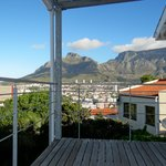 Table Mountain view from private balcony