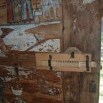 la serrure en bois de l'église greco catholique de IEUD