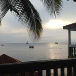 Vista al mar desde el Hotel.