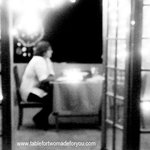 Couple dining on TFT verandah