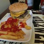 Burger mit upgrade