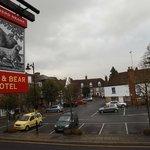 View across The Square, Lenham village