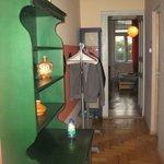 Hallway of ensuite leading to bedroom