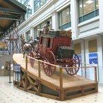 Postal Museum Stagecoach
