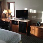 Desk and Appliances