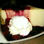 Cheesecake with berry compote!!