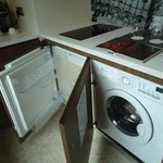 Fridge and Washer and Dryer