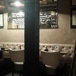 Intimate restaurant