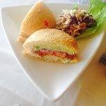 Fish sandwich ...