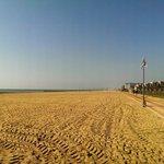 Długa, piękna plaża