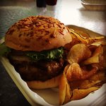 Mai Tai Burger.