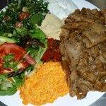 Lamb Kebab Meal
