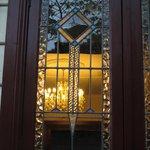Beautifuk Federation stained glass