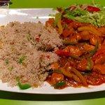 Desi Chicken Stir Fry