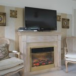 Rossini Suite Fireplace