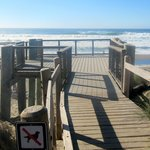 Boardwalk to Ocean, Bodega Dunes Campground, Bodega Bay, Ca