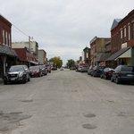 Downtown Jamesport, Missouri....great little town!
