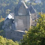 closeup of the chateau from the chairlift...