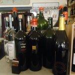 vinhos na cantina