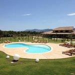 Una panoramica del giardino fronte marganai!