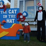 scarecrow festival - cat in the hat