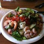 El Pescador salad!  Yummy!!!