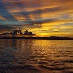 西桟橋からの夕景