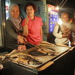 The owner was really friendly and let us took photos with her n the grill fish after our hearty