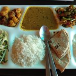 Amazing Indian thali!