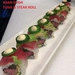 tuna steak roll