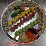 nami party platter 48 pcs