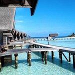 Overwater cabins