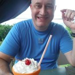 honey with yummilicious milkshake...